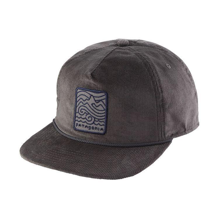 525a1662e4f Patagonia Seazy Breezy Corduroy Hat - Forge Grey