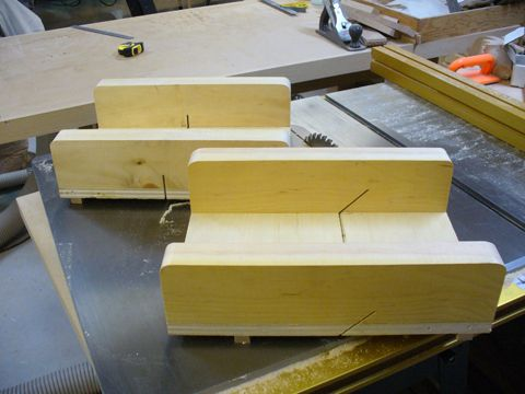A Couple Of New Crosscut Sleds Table Saw Accessories Table Saw