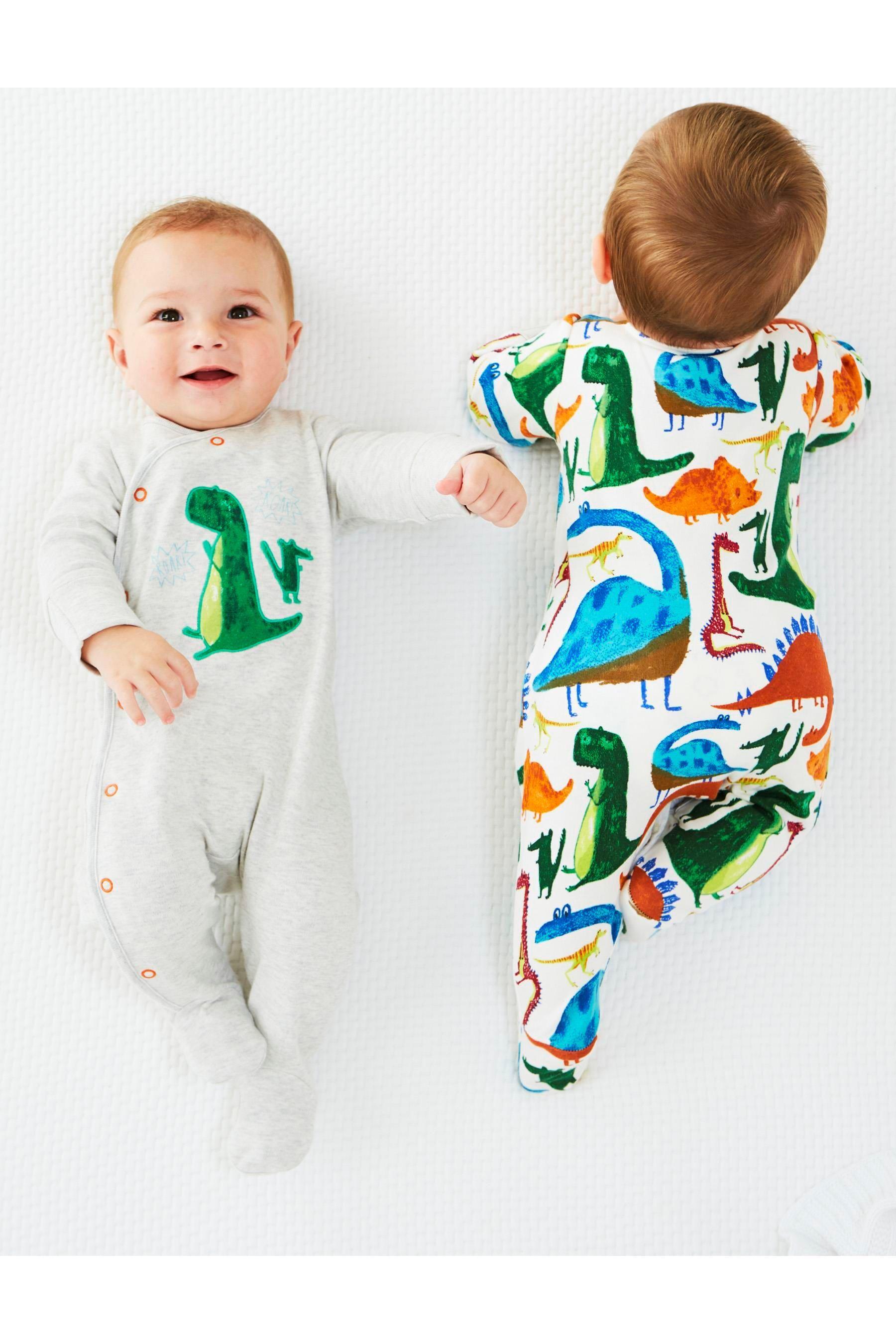 Boys' Clothing (newborn-5t) Hard-Working Junior J Boys Sleepsuits Age 3-6 Months