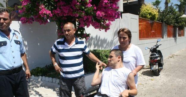 Engelli Vatandaş Marmaris'de otele alınmadı!