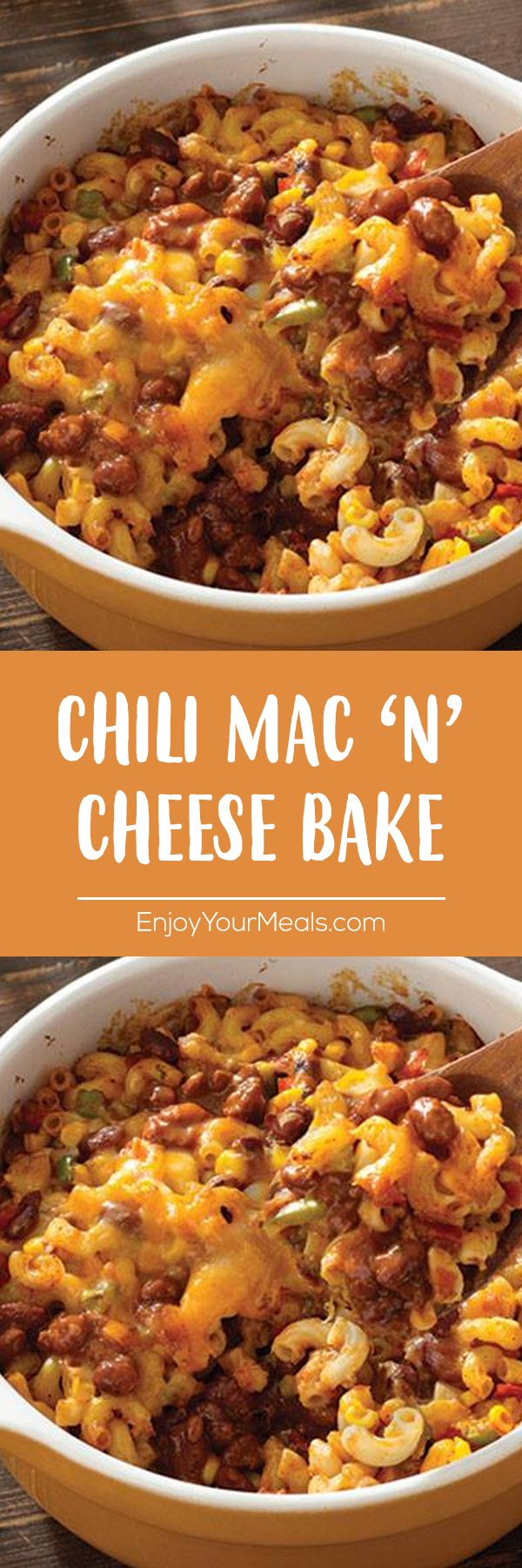 Chili Mac N Cheese Bake Enjoy Your Meals Recipes Flavoesrecipes Easyrecipe Chili Mac Casserole Cooking Mexican Food Recipes