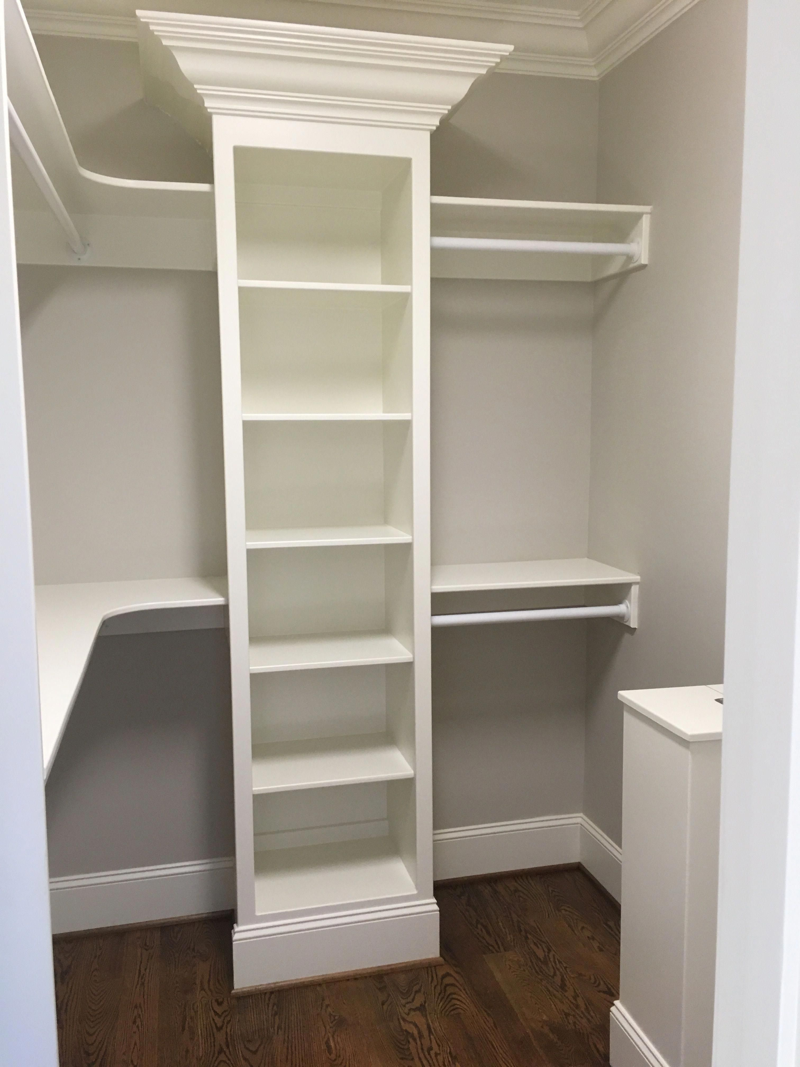 Prices For The Development Of A Basement With Images Closet Small Bedroom Closet Remodel Small Closet Remodel