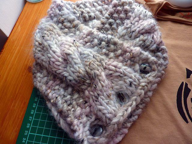 Ravelry: Chunky Button Cowl pattern by Kayla Fowler ...