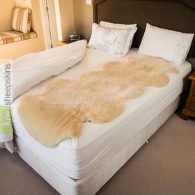 Genuine Medical Sheepskin Mattress Pad Bed Underlay Bed Underlay Mattress Bed Sizes
