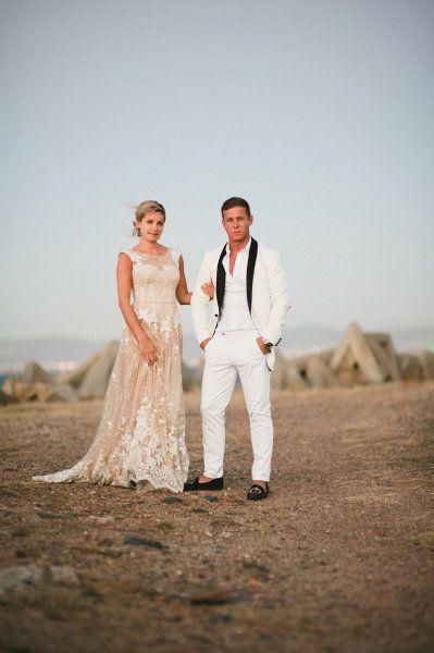 Insanely amazing groom attire | photo via dna photographers