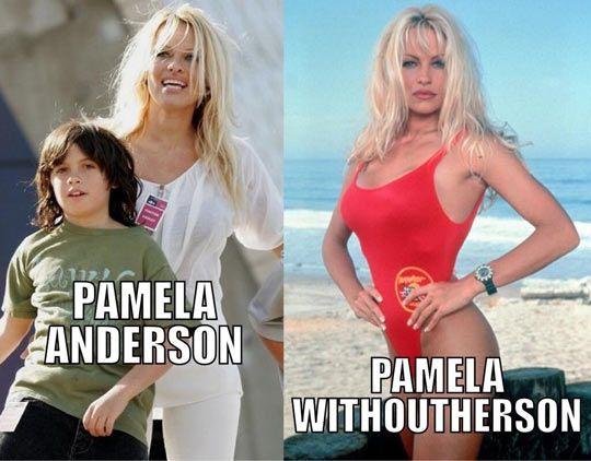 Pamela Anderson… lolllll so silly