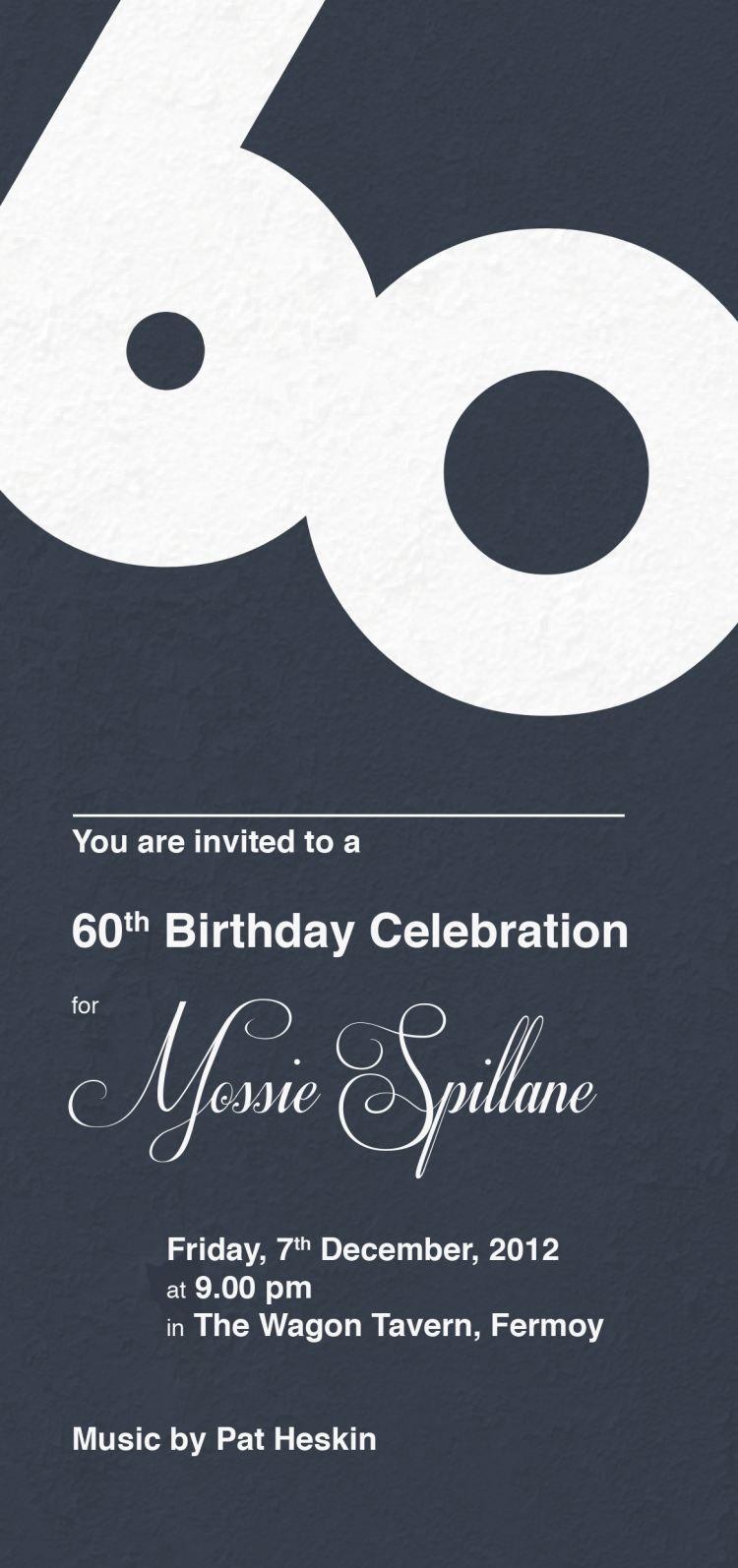 Anniversaire 60 Ans 55 Idees Sur Les Invitations Originales 60 Ans Anniversaire Invitation Anniversaire 60 Ans Invitation Anniversaire