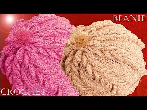 Crochet Beanie – Tutorial – Design Peak 498b001c57a