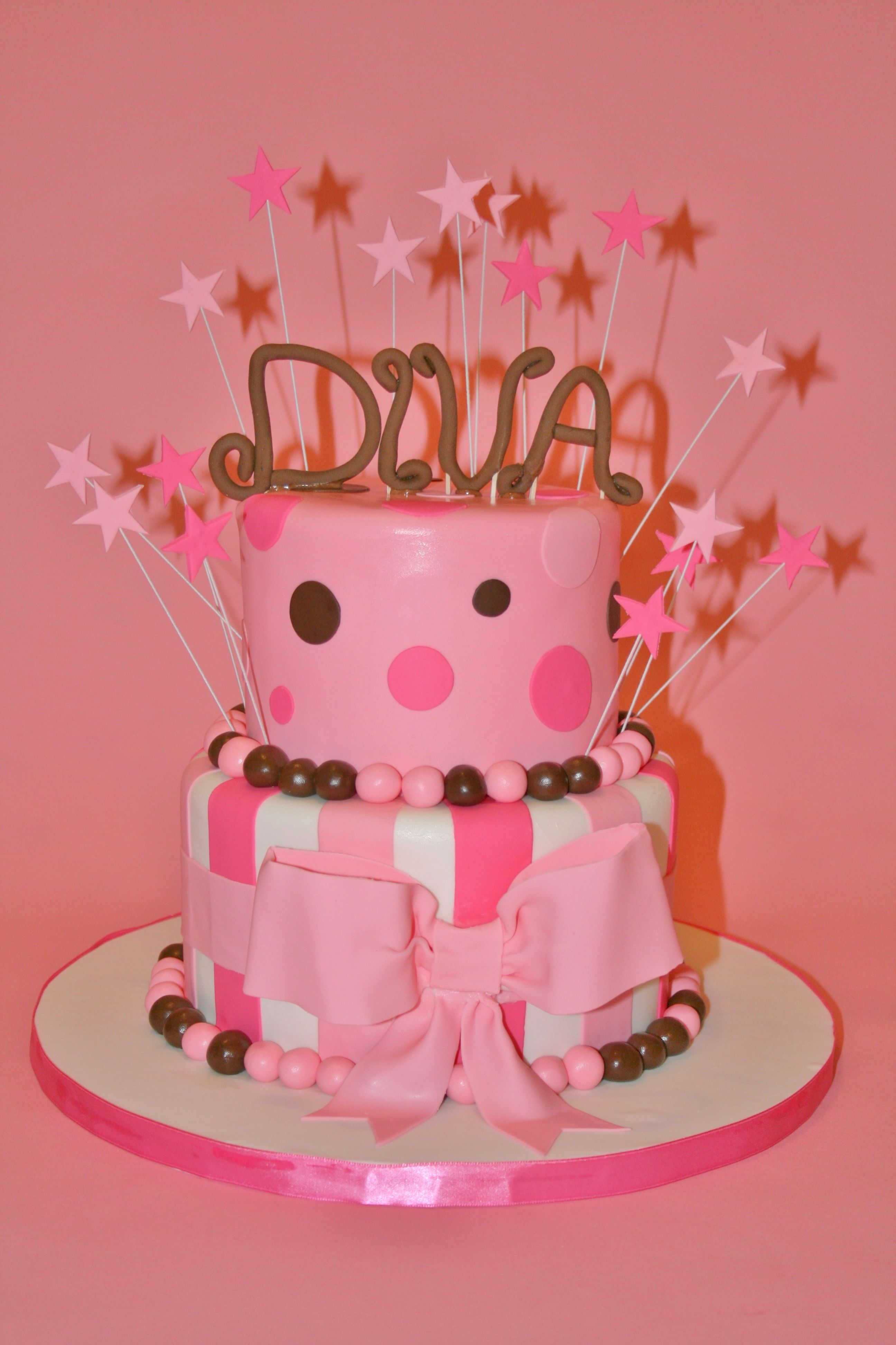 Diva Birthday Cake Would Change It A Bit Have Your Cake And Eat It