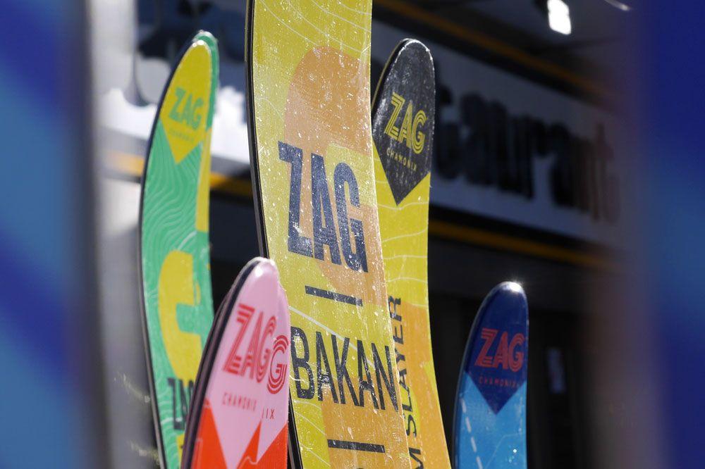 The new 2015/2016 Zag skis range tested by Skipass!  #zagskis #zag #skis #newco #newrange #chamonix #skipass