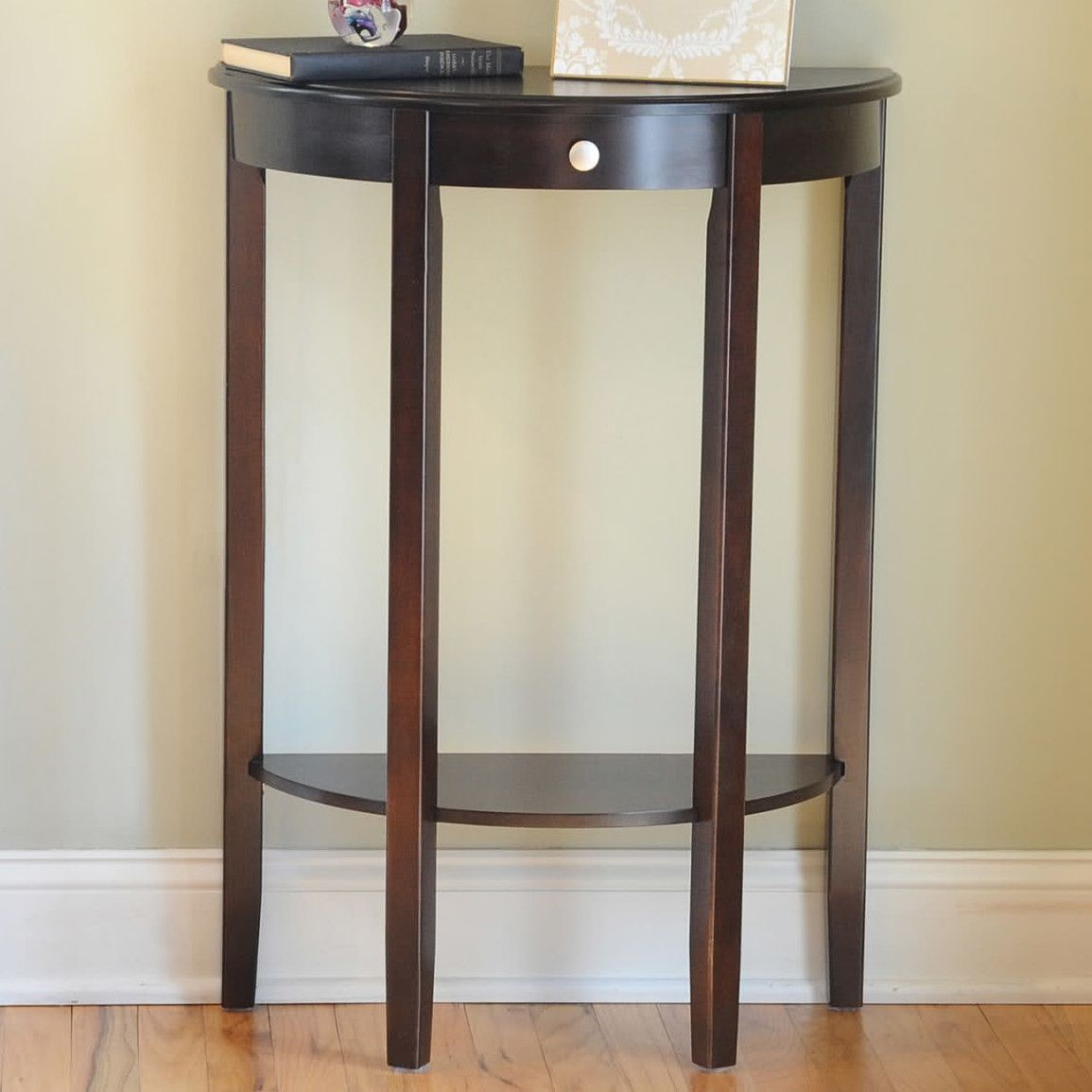 Melville Half Moon Console Table