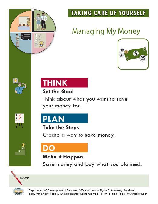 managing my money