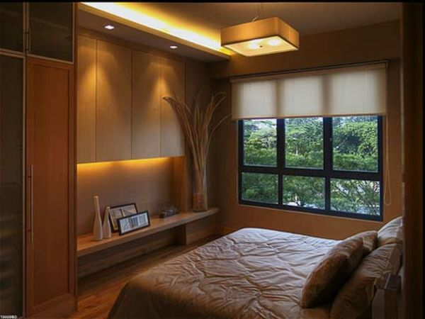 kleine-räume-einrichten-schönes-schlafzimmer | Alexandra | Pinterest