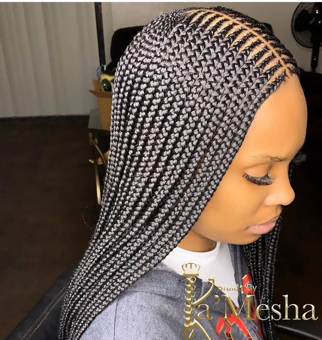 2020 Braided Hairstyles Wonderful Newest Hair Developments In 2020 African Braids Hairstyles African Hair Braiding Styles Braided Cornrow Hairstyles