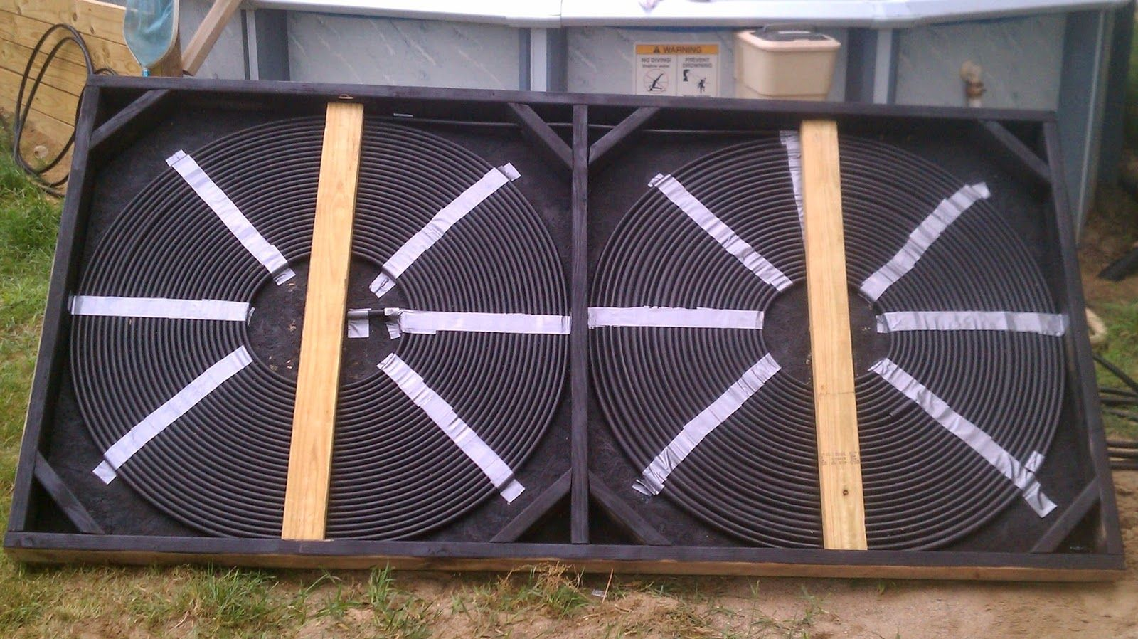How to build your own solar pool heater and add a diverter - How to make your own swimming pool heater ...