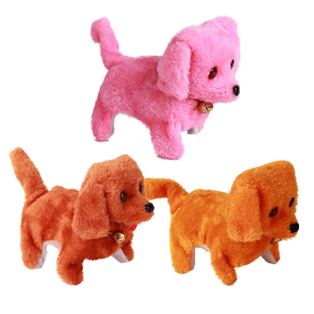 2 92 Lovely Plush Walking Barking Electronic Moving Dog Toy Pet