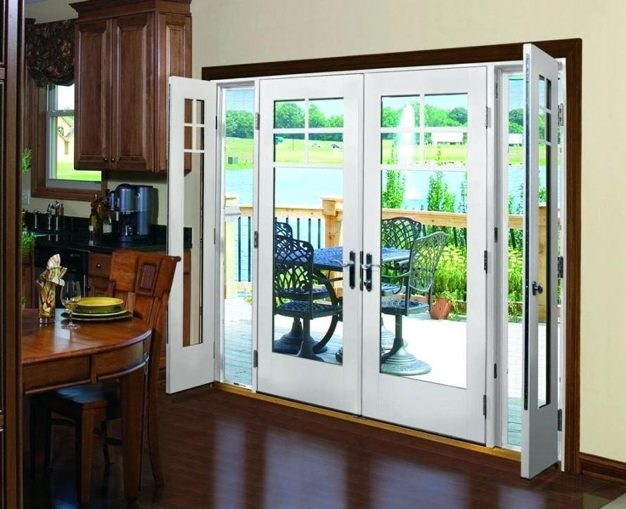 Glass French Doors Exterior Picturesque Patio Picturesboss