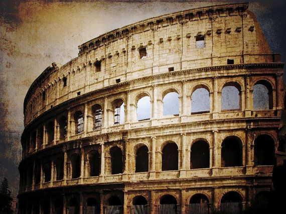 Roman Coliseum Wall Photographic Art Print Wall Art For Home