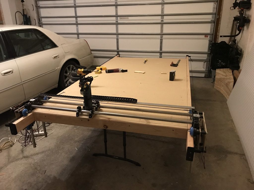 Lowrider Cnc Full Sheet 4x8 Cnc Router By Swholmstead Based On A Design By Allted Cnc Router Cnc Cnc Router Table