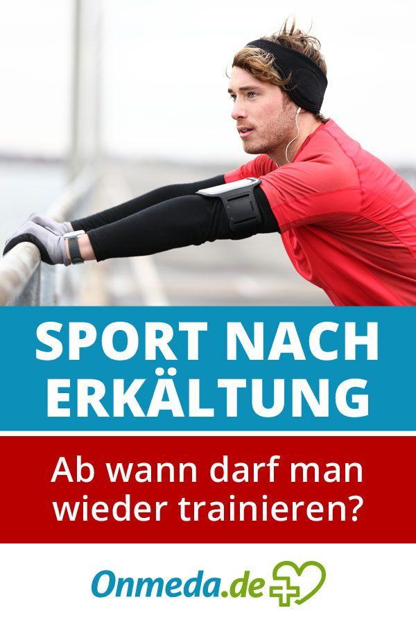 Sport Nach Erkältung