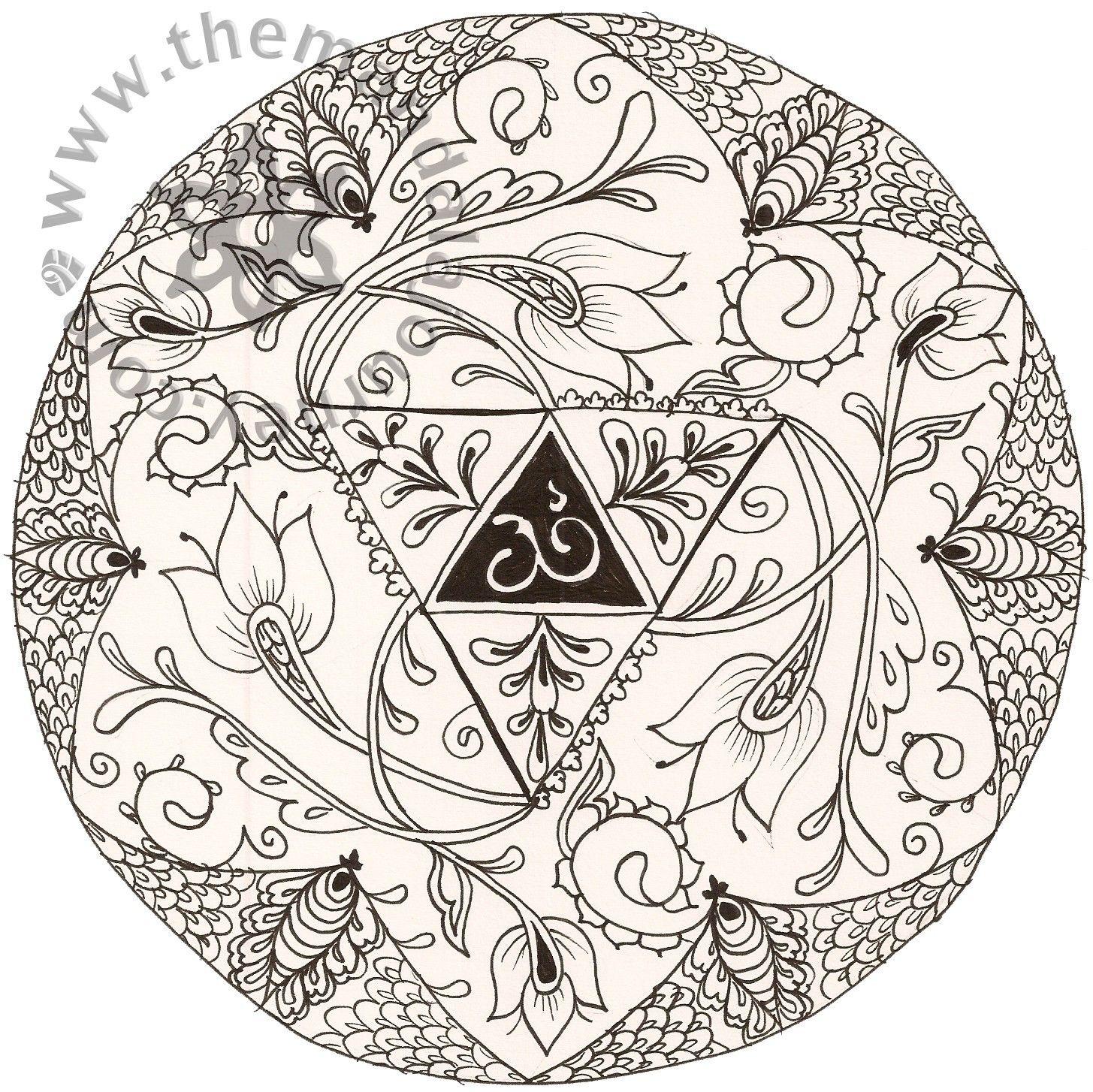 - Tibetan Buddhist Mandala Coloring Pages With Inspirationa Chakra