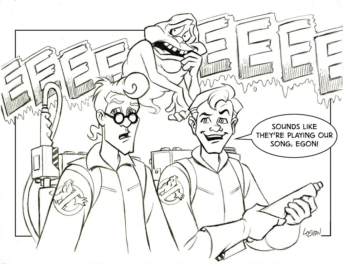 Coloring Page Ghostbusters100 Jpg 1100 846 Coloring Pages