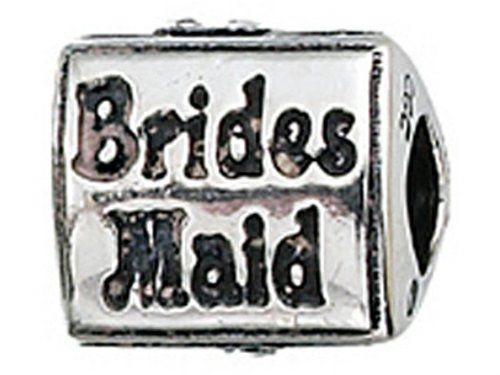 Zable Sterling Silver Bridesmaid Bead  Charm * Check out the image by visiting the link.