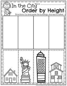 May Preschool Worksheets   Preschool Worksheets ...