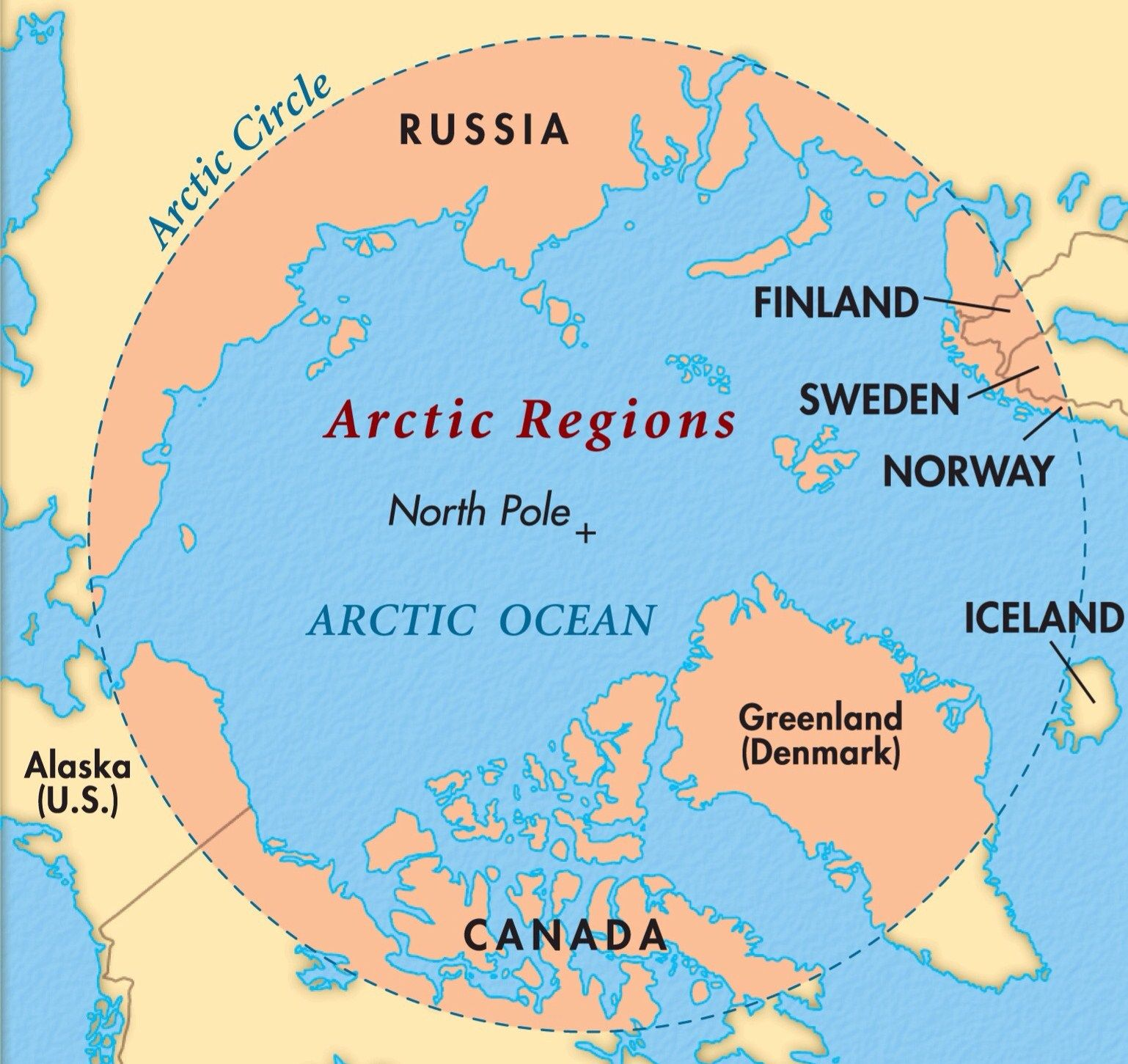Map Of Canada Greenland And Iceland.Arctic Circle Maps Google Search Places I Have Been Circle