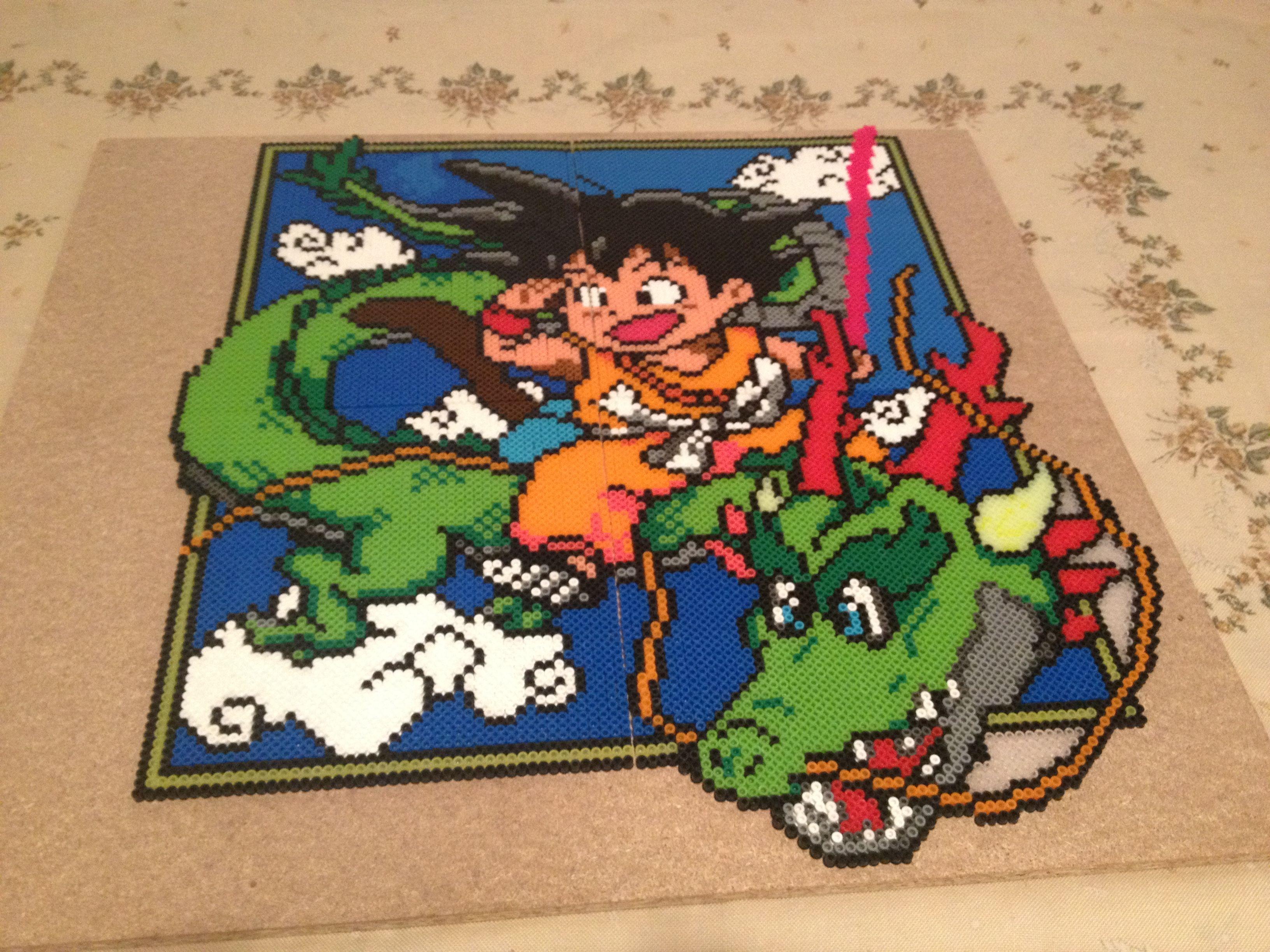 Dragon ball cuadro hama beads creaciones de hama beads - Hama beads cuadros ...