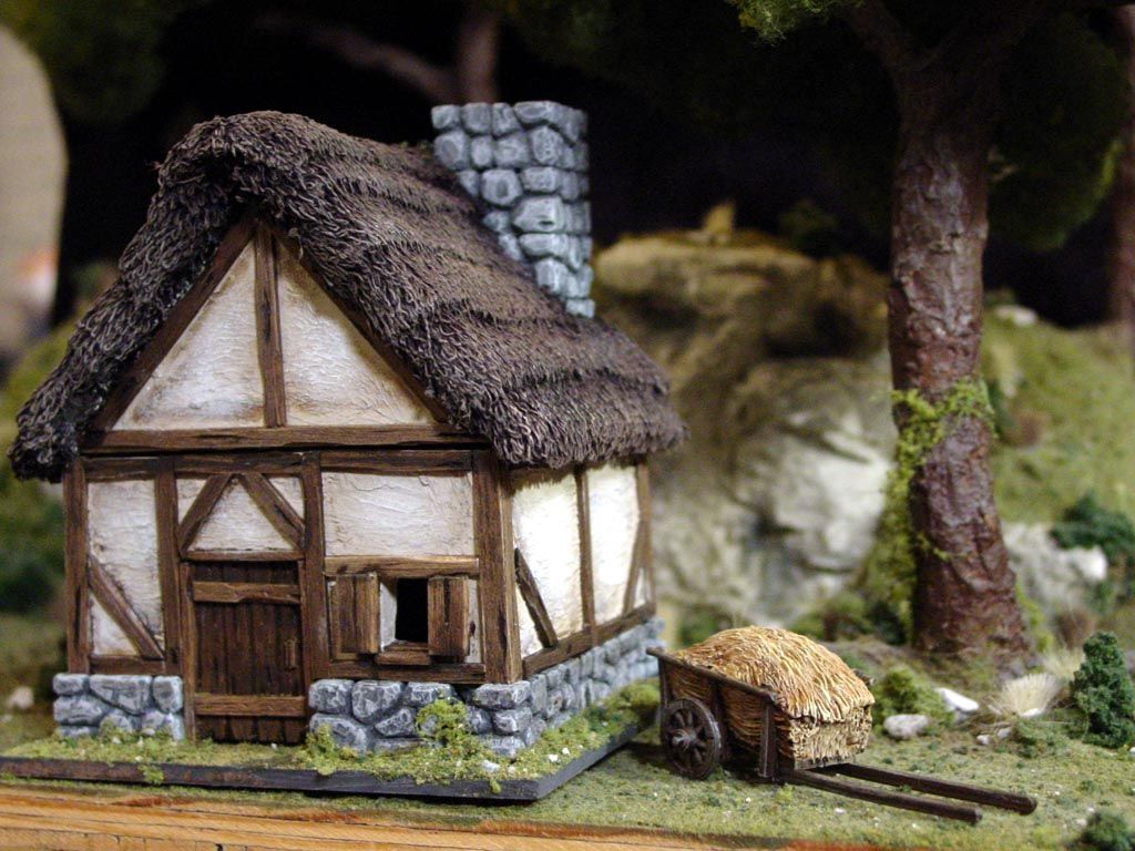 medieval peasants houses google search yr3building