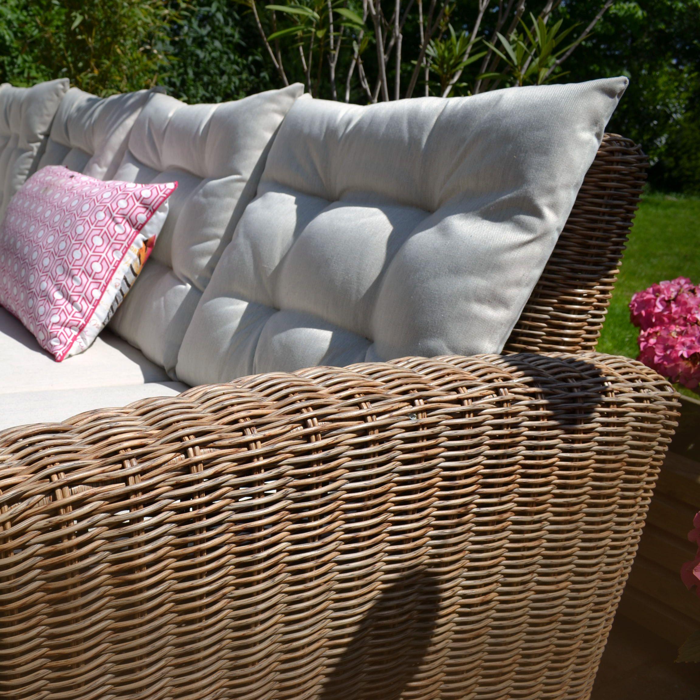 Manhattan Rattan Sitzlounge Lounge Polyrattan Gartenmobel