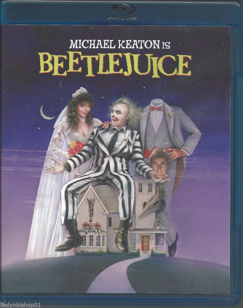 Beetlejuice (Blu-ray Disc, 2008, Deluxe Edition) Geena Davis, Michael Keaton