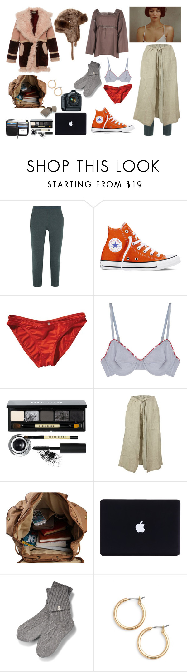 """""""go"""" by harttm ❤ liked on Polyvore featuring Theory+, Converse, Patagonia, Araks, Bobbi Brown Cosmetics, Lazybones, Eos, UGG, Nordstrom and Matiere"""