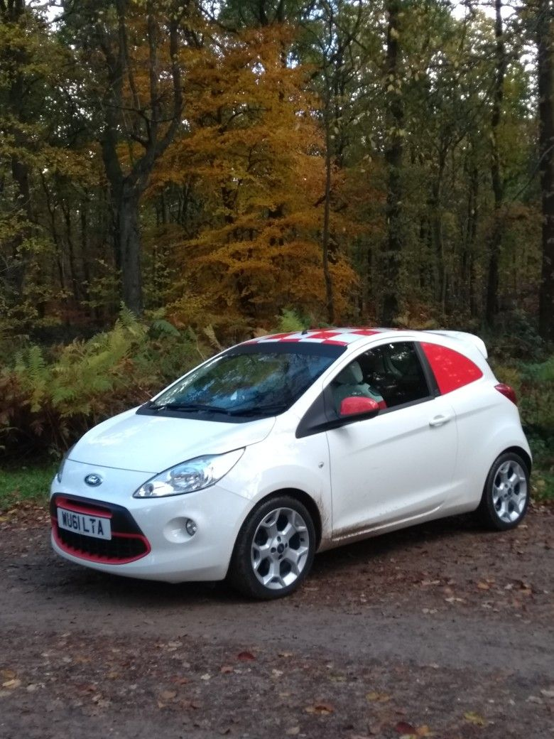 Ford Ka Mk2 Van Vinyl Decals Added By Smith Wrap It Start Life