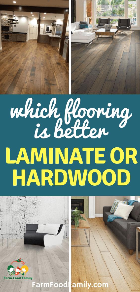 Laminate Vs Hardwood Which Flooring Is Better For 2020 With Images Best Laminate Hardwood Laminate