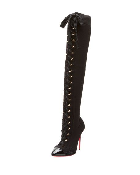 307ccda80f05 Frenchie Over-The-Knee Red Sole Boots Bergdoff Goodman Online Inquiries   BGF19 X44TU