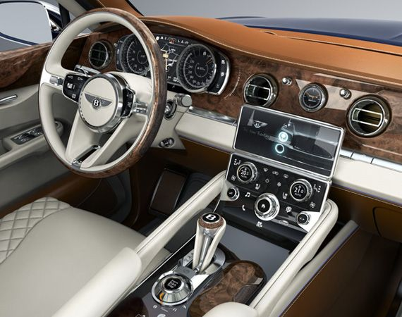Bentley Exp 9 F Concept Luxury Car Brand S First Sport Utility