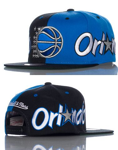 dc9fe241b68 MITCHELL AND NESS - Caps Snapback - ORLANDO MAGIC NBA SNAPBACK CAP ...