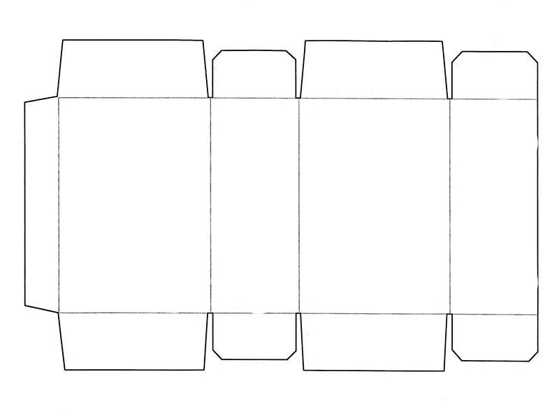 Packaging Dieline Template | Notify RSS Backlinks Source Print
