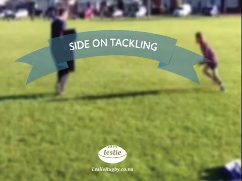 Side on tackling by LeslieRugby #rugby #rugby #skill #coaching #training