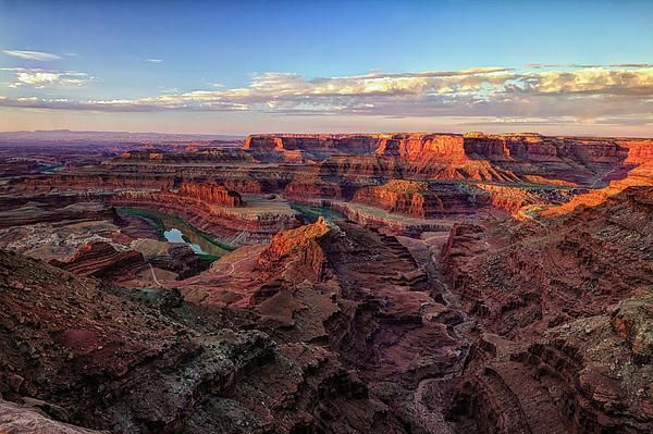 Canyons of the Colorado, a hat tip to John Wesley Powell an early explorer of the west and geologist. Wesley and his men were among the first to document the west.