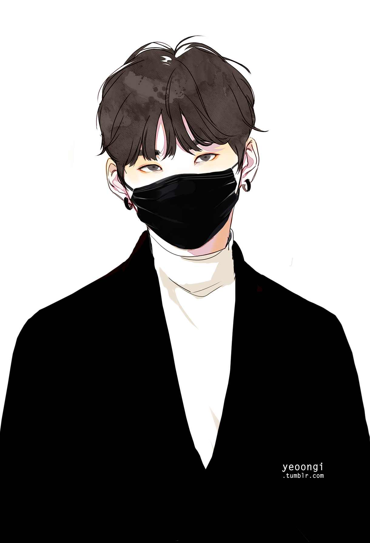 Resultado de imagem para suga bts draw cute Yoongi