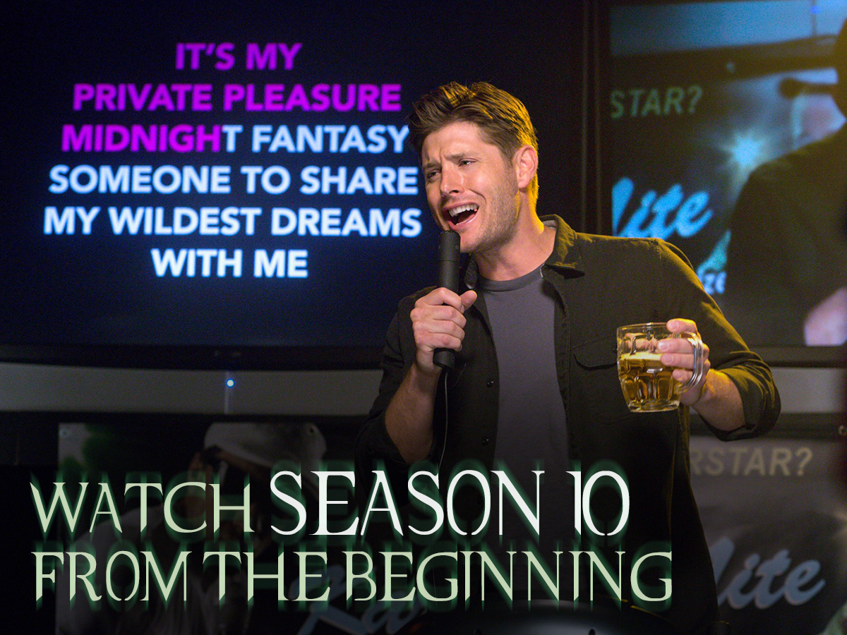 Being a demon wasn't all bad. Watch #Supernatural season 10 from the beginning, starting TONIGHT!