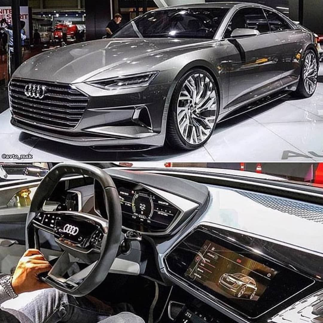 Audi A9 Concept 🔥 Tag a friend you'd take here! # ...