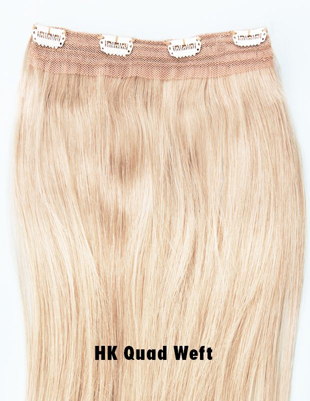 The Hk Quad Weft Is Perfect For Giving Hair A Subtle Volume