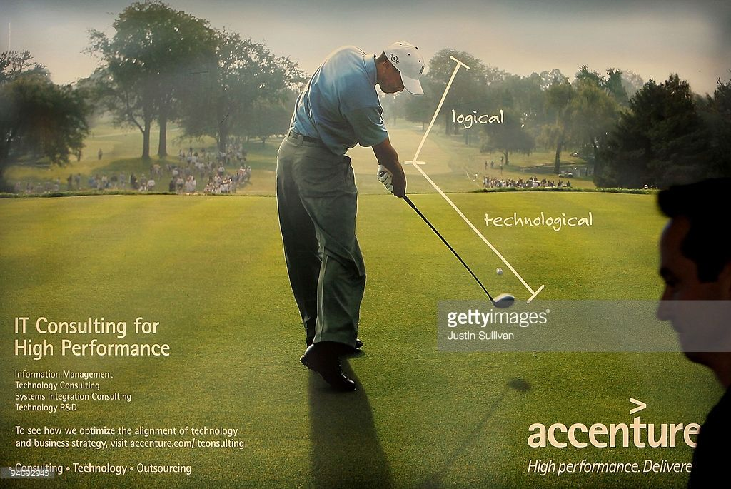 Accenture Golf lessons, Golf, Tiger woods