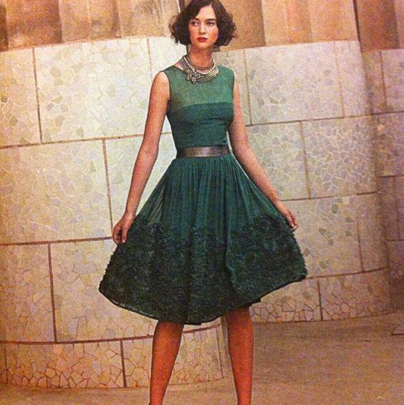 SOLD!Caridad Ruffled Dress By Tiny 12P