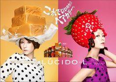 Inspiración del uso de elementos de comida. Colores