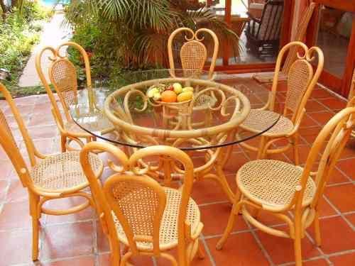 Comedor 6 sillas, base y cubierta de cristal precios de fabrica ...